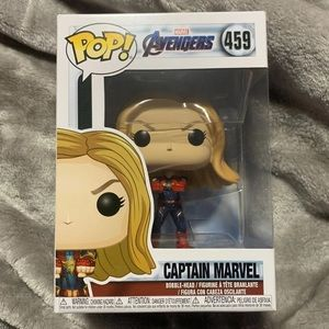 Funko Captain Marvel From Avengers Endgame